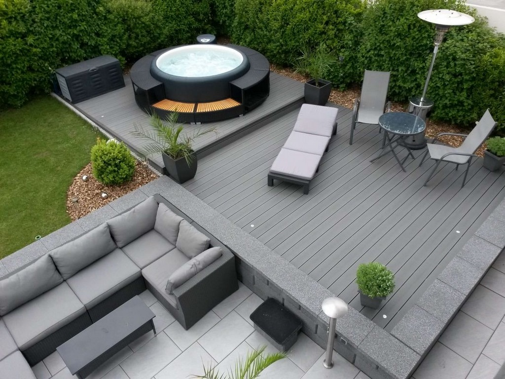 Softub hot tub for your garden design